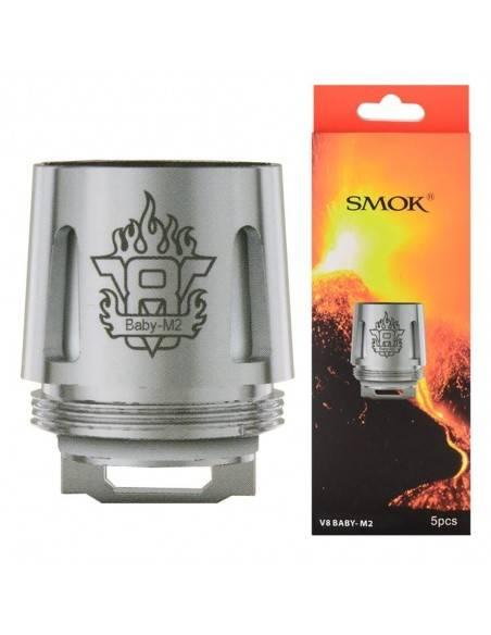 Smok - V8 Baby - M2 Verdampferköpfe x5