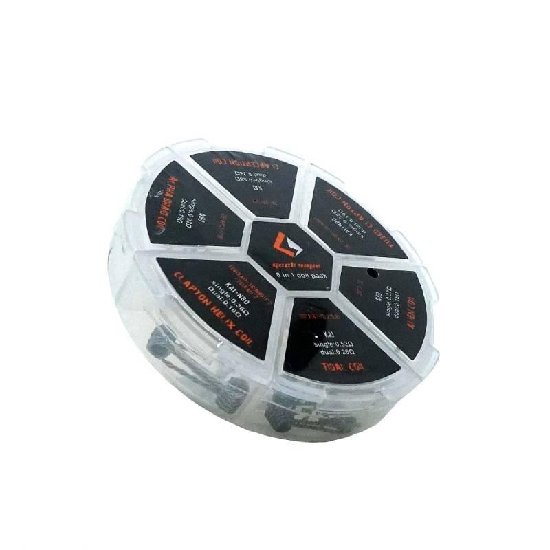 Geek Vape - 6 in 1 Coil Pack