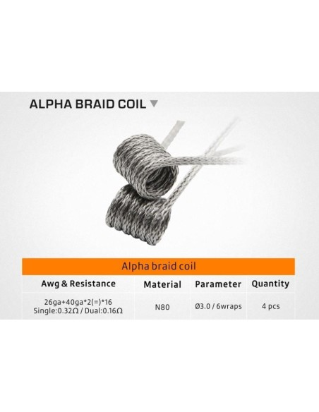 Geek Vape - Alpha Braid Coil