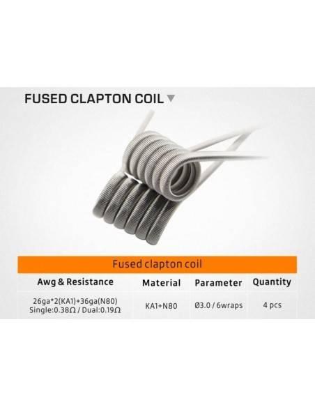 Geek Vape - Fused Clapton Coil