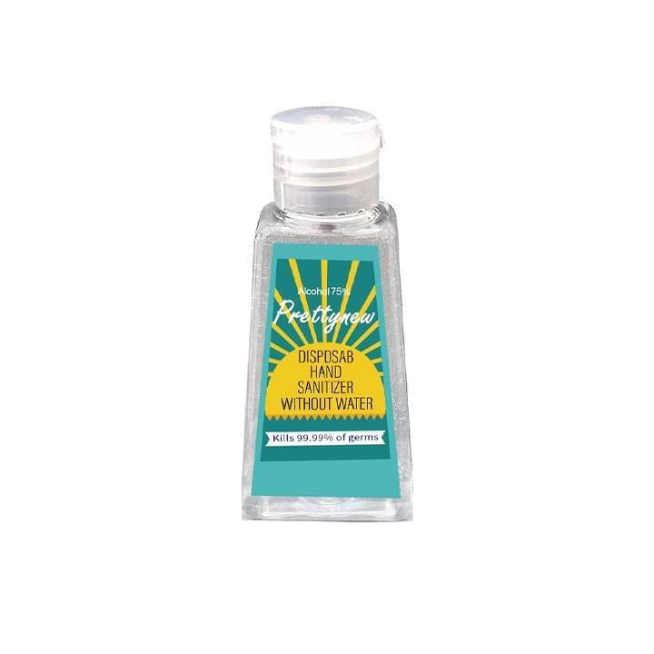 Prettynew - Gel Hydro-alcoolique/Désinfectant 60ml