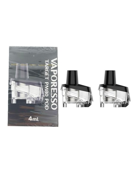 Vaporesso - Pods remplacement Target PM 80 x2 4ml