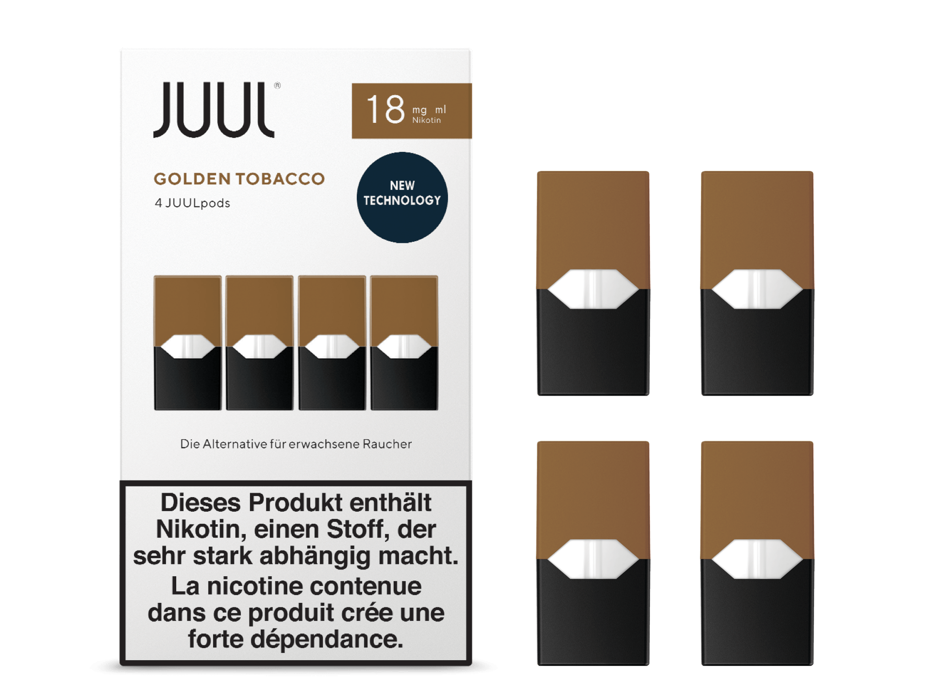 Juul - Golden Tobacco (4pack)