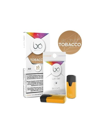 BO Vaping - Caps Blond Tobacco x2