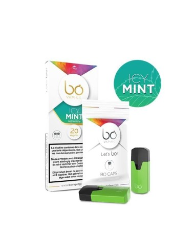BO Vaping - Caps Icy Mint salt nic x2