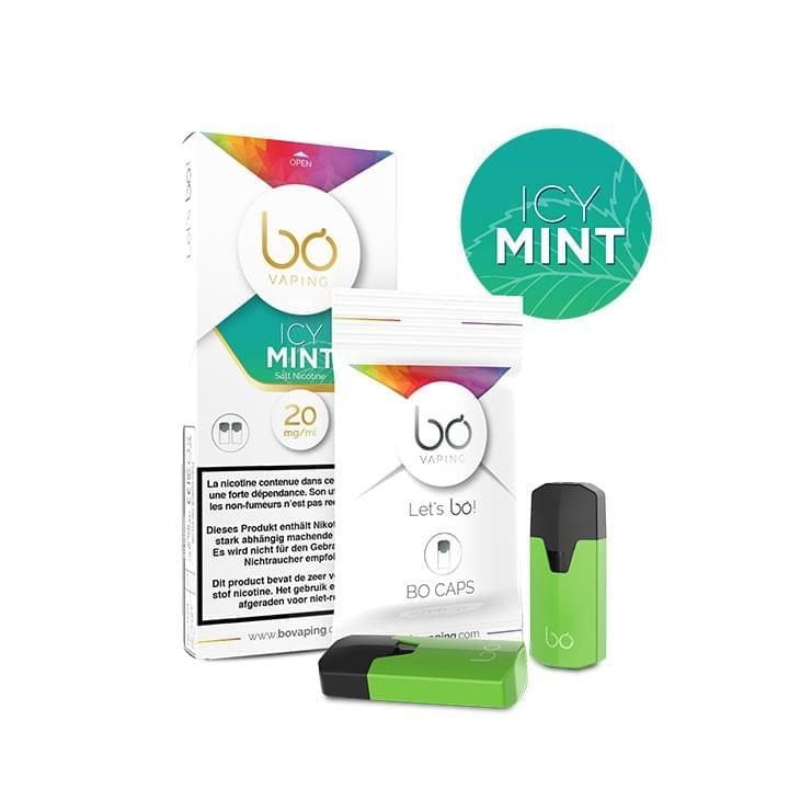 BO Vaping - Caps Icy Mint...