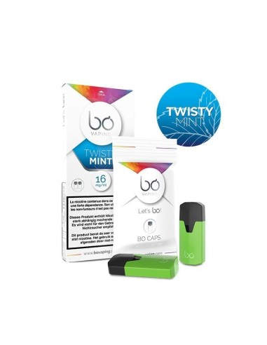 BO Vaping - Caps Twisty mint x2