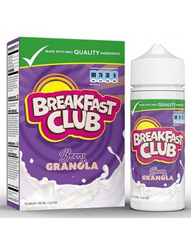 Breakfast Club - Berry Granola 100ml