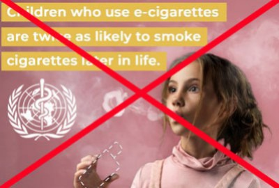 World No Tobacco Day : the WHO relentlessly fights against vaping